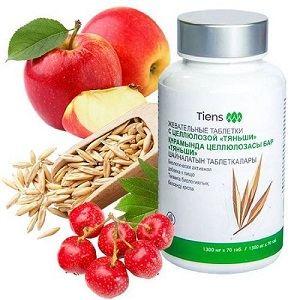 Пищевые волокна против ожирения и запоров -«Таблетки с целлюлозой «Тяньши»2